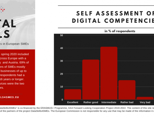 DataSkills Survey Results #9: Self Assessment of Digital Competences