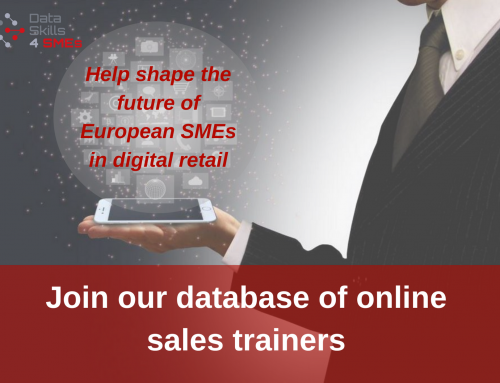 Open Call for DataSkill4SMEs Online Sales Trainers