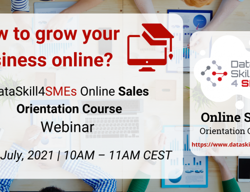 """""""How To Grow Your Business Online? – DataSkill4SMEs Online Sales Orientation Course Webinar"""